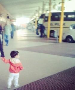 ¿en que autobús vendrá?